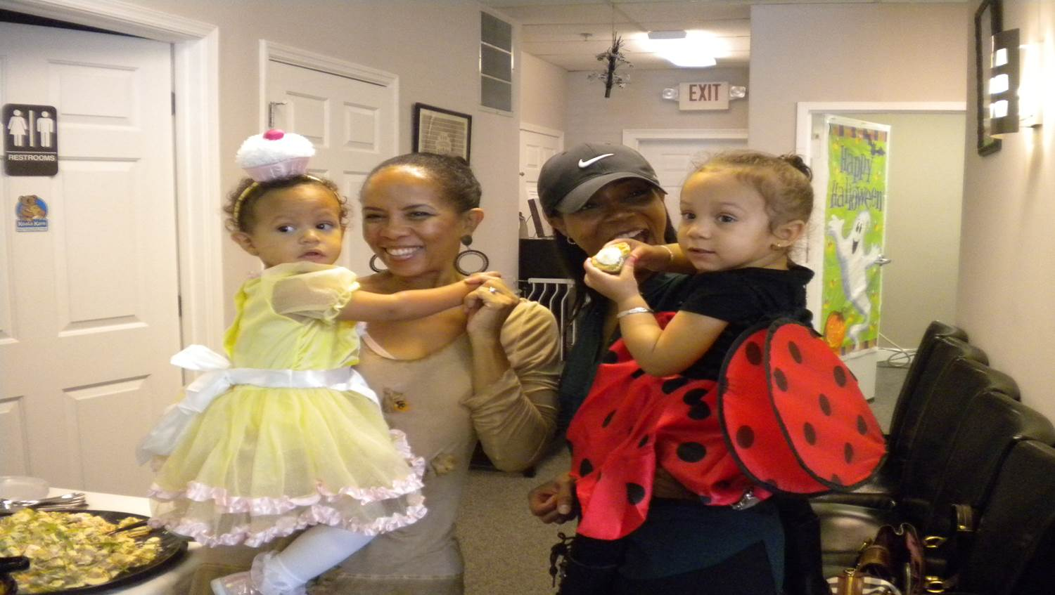 """baby costume cupcake princess lady bug"""