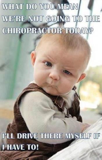 """Baby drive chiropractor"""